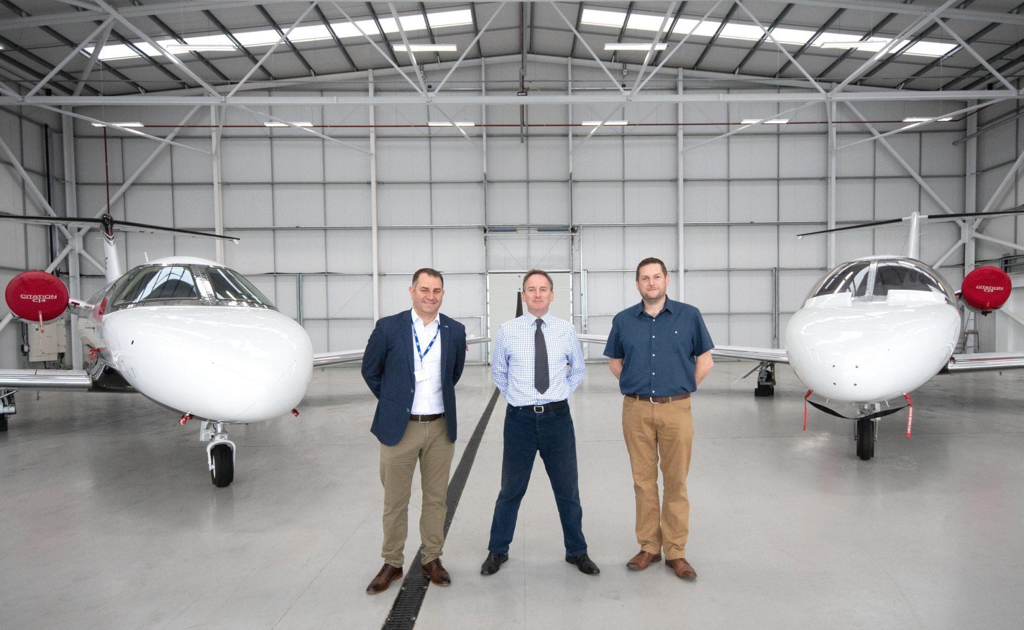 OXFORD AIRPORT   Jet Maintenance International Launch